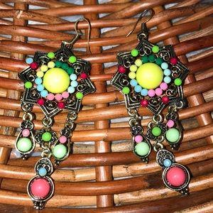 Sun lantern Earrings